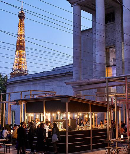 Edo, le restaurant à ciel ouvert du Palais de Tokyo à essayer absolument