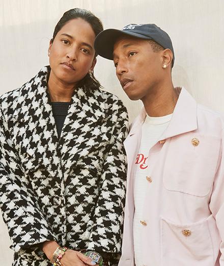 Pharrell Williams et Eva Green au défilé Chanel haute couture printemps-été 2020