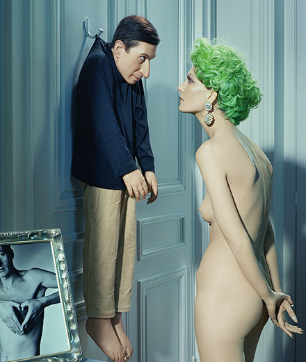 Maurizio Cattelan, Gilbert & George... Miles Aldridge shows his collaborations with the biggest artists