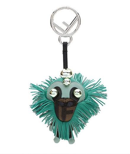 L'objet du jour : le bijou de sac Space Monkey de Fendi