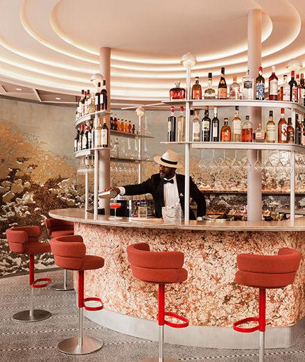 Astair, la brasserie qui réunit le chef étoilé Gilles Goujon et l'architecte d'intérieur Tristan Auer