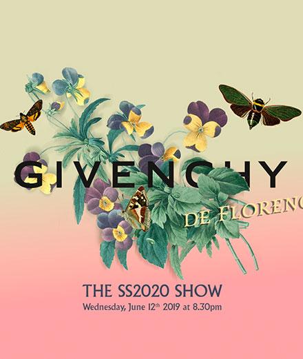 Vivez le défilé Givenchy homme printemps-été 2020 en direct