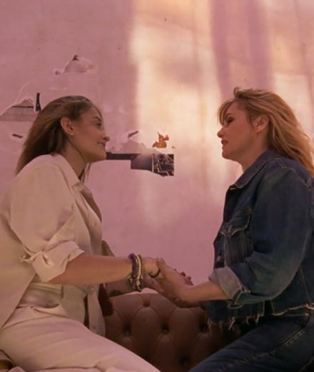 Golden Goose Deluxe Brand réunit Emmanuelle Seigner et Paris Jackson dans une video