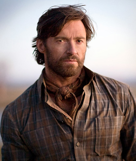 Hugh Jackman in an unlikely role