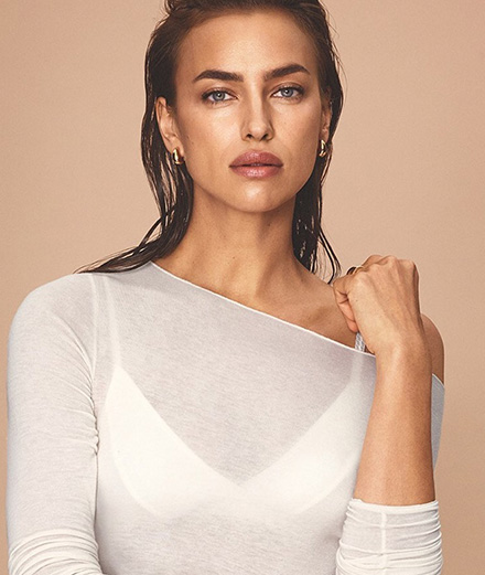 """Fashion is recognizing imperfection as the real beauty"" interview with Irina Shayk"