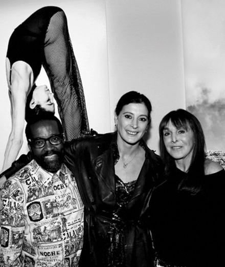 La soirée en l'honneur de Marie-Agnès Gillot et Koto Bolofo au Studio des Acacias