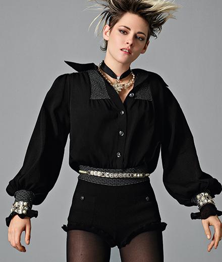 Kristen Stewart, égérie Chanel photographiée par Jean-Baptiste Mondino
