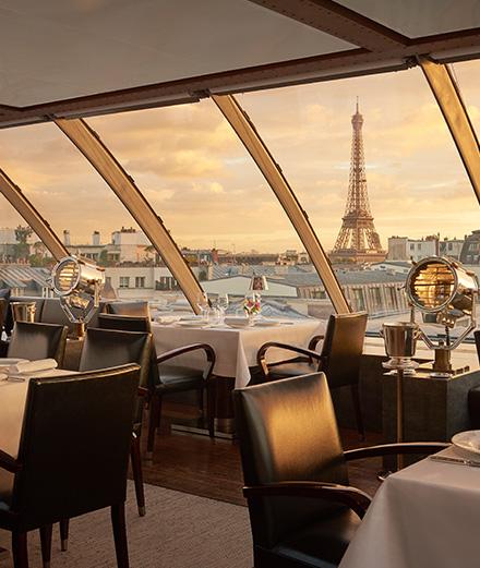 À L'Oiseau Blanc, gastronomie française sublimée et vue panoramique époustouflante