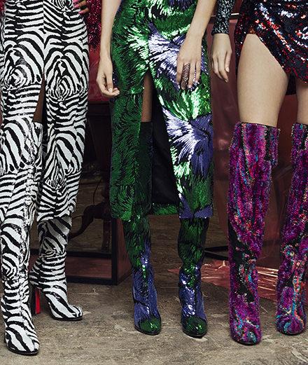 Les spectaculaires chaussures de Christian Louboutin pour Halpern