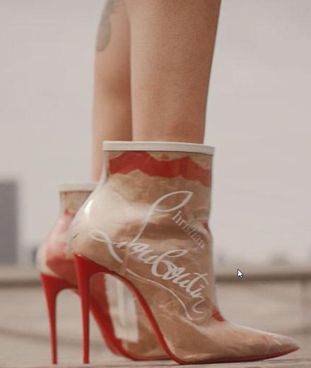 """L'objet du jour : les boots """"Loubikraft"""" de Christian Louboutin"""