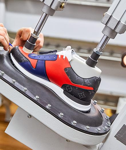 Créez votre propre paire de sneakers Louis Vuitton