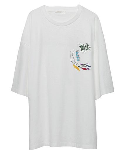 Le nouveau tee-shirt d'American Vintage pour le Festival de Hyères