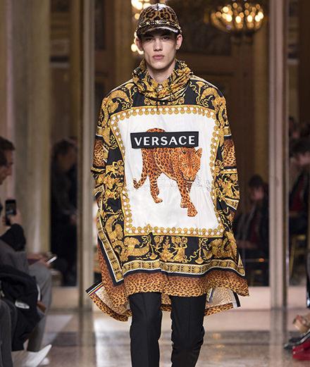 Le défilé Versace homme automne-hiver 2018-2019