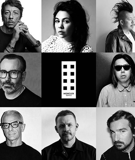 Quels designers rejoignent les équipes créatives de Moncler?