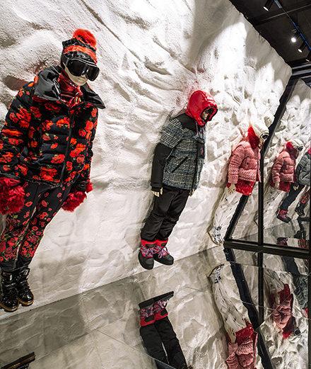 Avec The House of Genius, Moncler redéfinit le concept de boutiques à Tokyo et New York