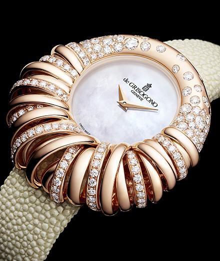 De Grisogono célèbre ses 25 ans avec la montre Allegra 25