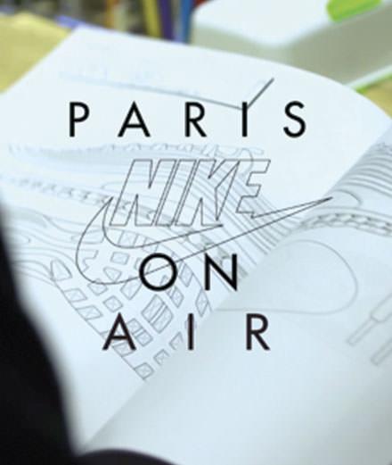 Nike invite les Parisiens à imaginer le futur modèle Air Max