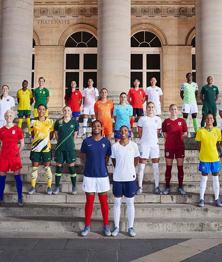 Nike dévoile les maillots de la coupe du monde de football  féminin