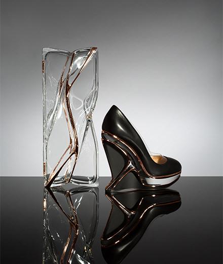 L'objet du jour : les escarpins Charlotte Olympia x Zaha Hadid Design