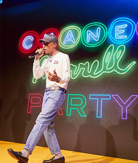 Pharrell Williams signe la toute première collaboration Chanel