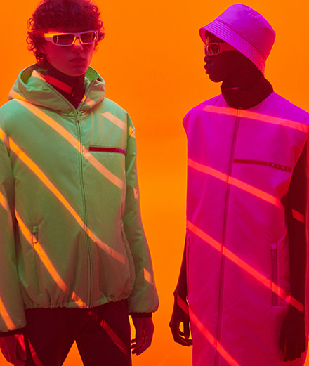 Prada relaunches its sportswear line with a new name, Linea Rossa