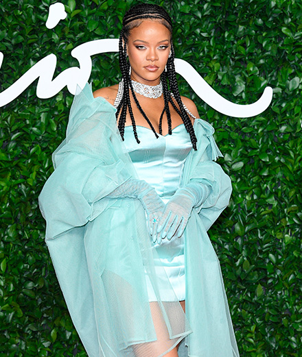 Rihanna and Daniel Lee winners at the British Fashion Awards