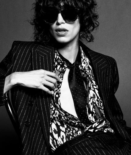 Porfolio : Mick Jagger, nouvelle muse de Saint Laurent