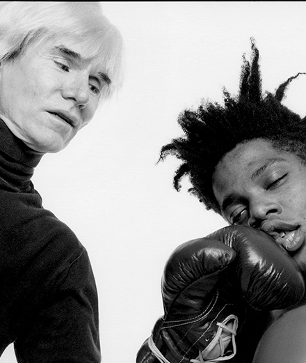 Une photo de Warhol et Basquiat inspire la nouvelle collaboration Saint Laurent