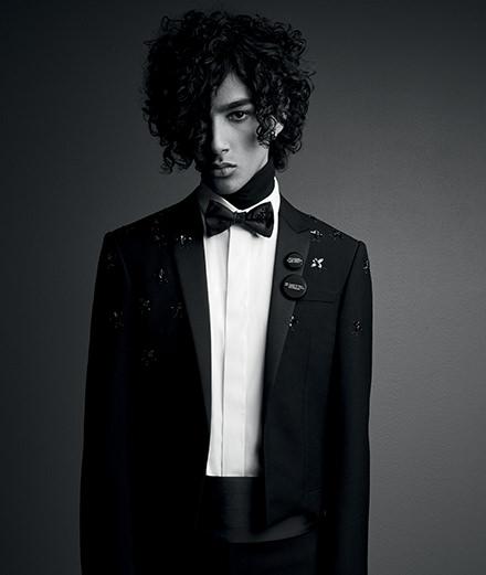 Patrick Demarchelier shoote Dior Homme pour la première fois