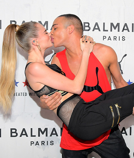 Interview : Cara Delevingne et Olivier Rousteing about the Puma and Balmain collaboration