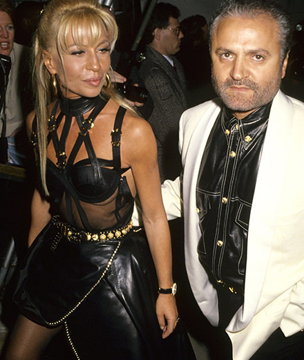 How did Gianni Versace become a legend?