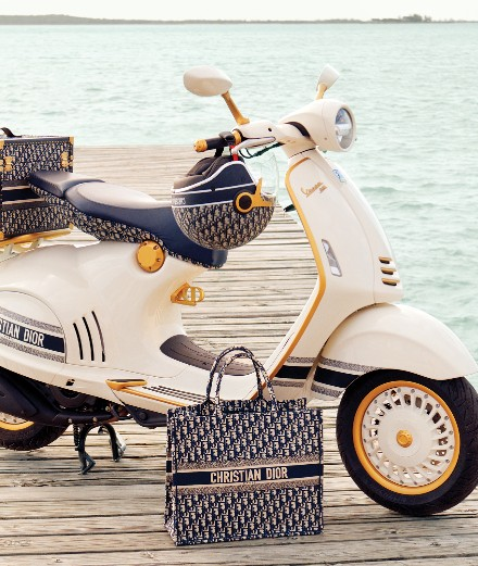 Dior customise le Vespa 946