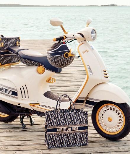 Dior customise le Vespa 946
