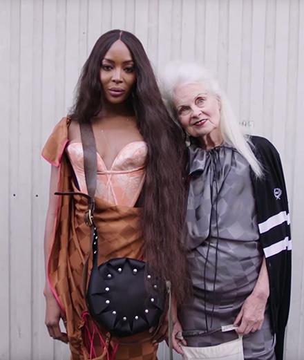 Naomi Campbell enfin égérie Vivienne Westwood