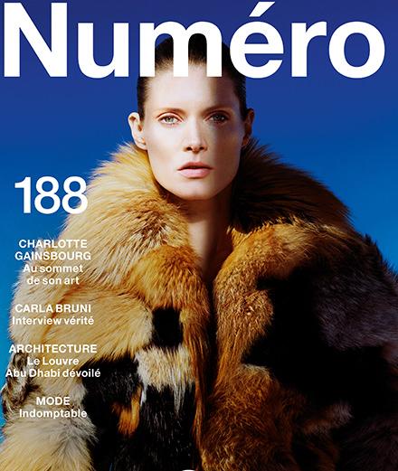 Carla Bruni, Charlotte Gainsbourg, Proenza Schouler... Découvrez le sommaire du Numéro Sauvage de novembre 2017