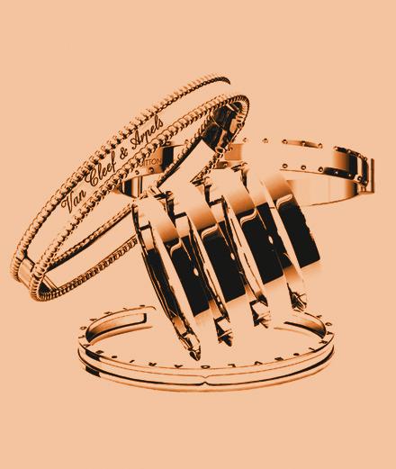 L'or rose de Van Cleef & Arpels, de Louis Vuitton, de Repossi et de Bulgari
