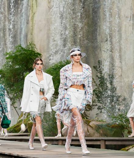 L'hommage à la nature de Chanel printemps-été 2018