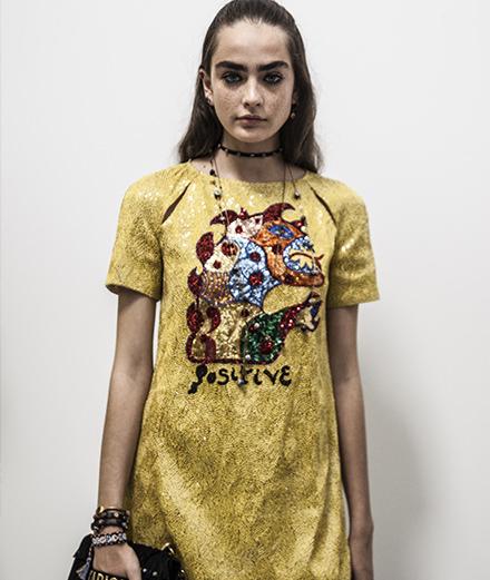 Backstage : Dior spring-summer 2018 fashion show by Mehdi Mendas