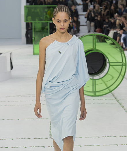 Le grand retour de Lacoste à la fashion week de Paris