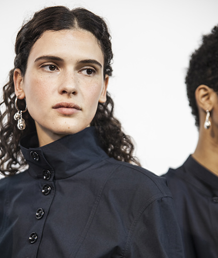 Backstage : Lemaire spring-summer 2018 by Mehdi Mendas