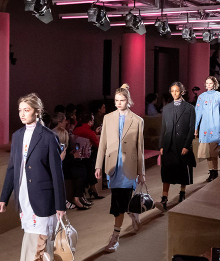 Le défilé Prada Resort 2020 à New York