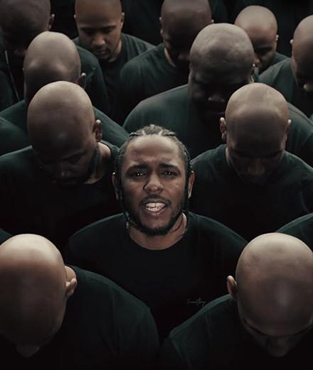 """""""Humble"""" ou le retour vidéo fracassant de Kendrick Lamar"""