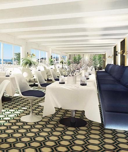 En direct de Cannes : quelle est la terrasse la plus en vue de la Croisette ?
