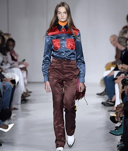Le défilé Calvin Klein printemps-été 2018