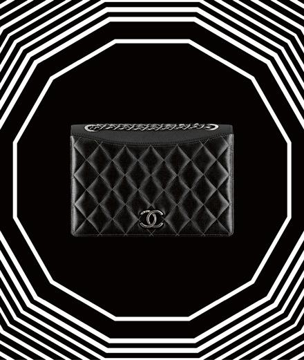 Fetish Object: Chanel's black satin bag