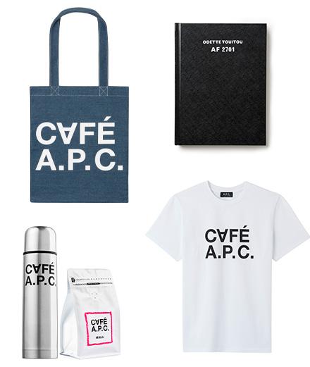A.P.C. lance des concept stores et un café éphémère