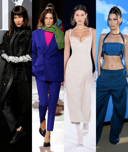 Bella Hadid, star de la fashion week homme à Paris?
