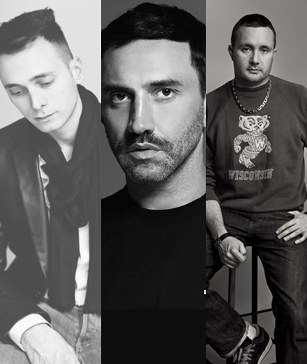 How will Hedi Slimane, Kim Jones and Riccardo Tisci transform the Houses of Céline, Dior Homme and Burberry?