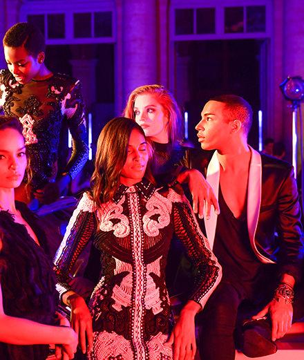 Balmain et L'Oréal électrisent la fashion week de Paris