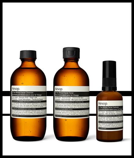 Aesop lance une gamme pour les peaux mixtes et réactives